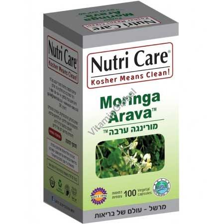 Kosher Badatz Moringa 100 capsules - Nutri Care