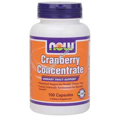 Cranberry Caps 100 caps - NOW Foods