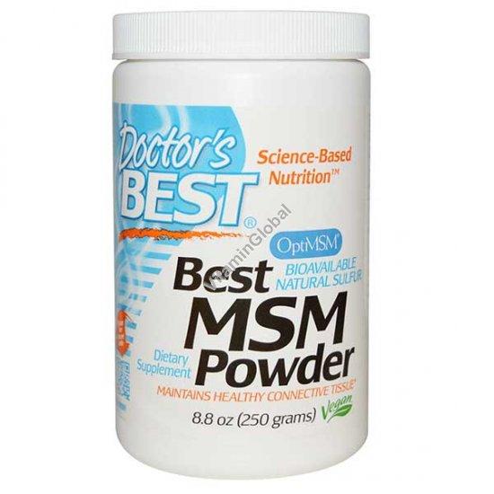 Best MSM Powder 250g - Doctor\'s Best