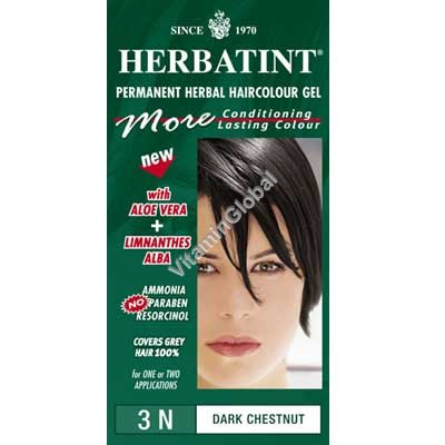 Permanent Haircolour Dark Chestnut 3N - Herbatint
