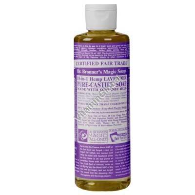 Lavender Liquid Soap 472ml (16 oz.) - Dr. Bronner