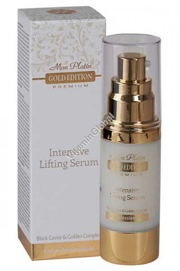 Intensive Lifting Serum Enriched With Black Caviar, Gold Edition (1.02 fl. oz) 30ml - Mon Platin