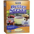 Better Stevia Powder 45 packets - NOW Food