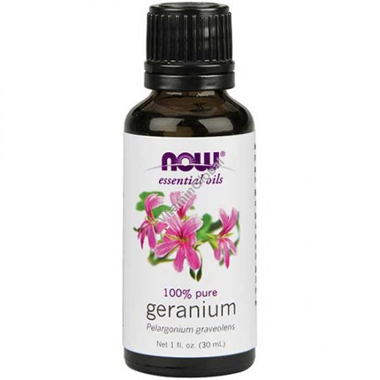 Geranium Oil 30ml (1 fl oz) - Now Essential Oils