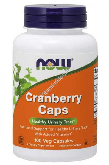 Cranberry Caps 100 Veg Capsules - NOW Foods