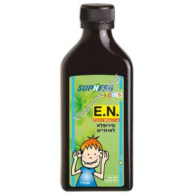 E.N. Formula Ear Syrup for kids 200 ml - SupHerb