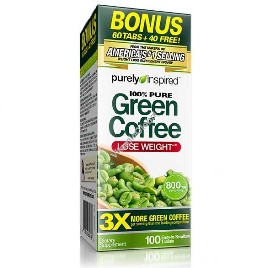 Green Coffee Extract 100 tablets - Purely Inspired