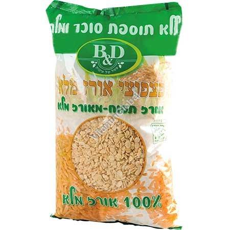 Gluten Free Puffed Brown Rice No Salt & Sugar Added 450g - B&D