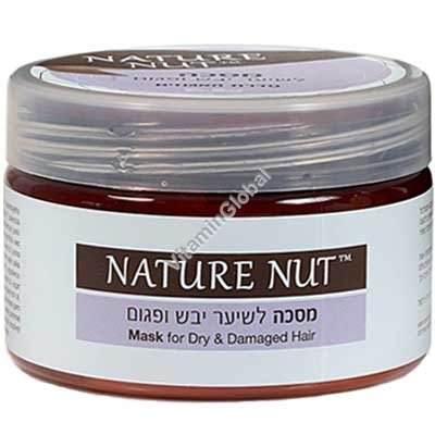 Mask for Dry & Damaged Hair 250 ml - Nature Nut