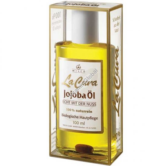 Cold Pressed, Natural Jojoba Oil 100 ml - Wilco La Cura