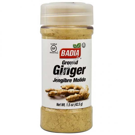 Gluten Free Ground Ginger 42.5g - Badia