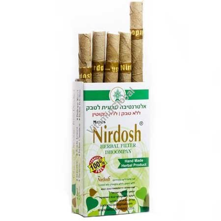 Herbal cigarettes nicotine & tobacco free Clove Mint Taste 10 units - Nirdosh