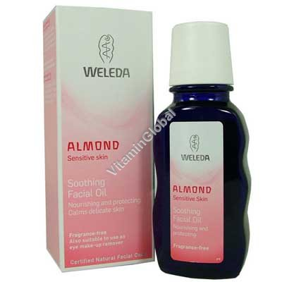 Almond Soothing Facial Oil 50ml - Weleda