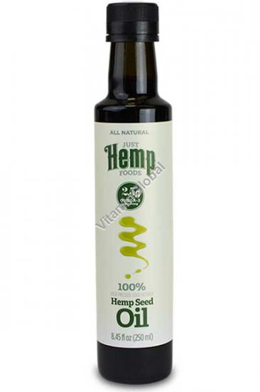Cold Pressed Hemp Oil 250ml (8.45 fl oz) - Just Hemp Foods