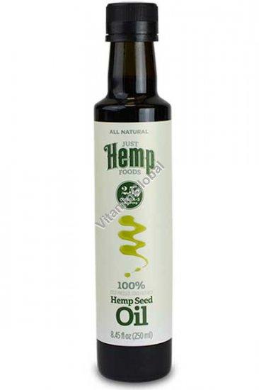 Cold Pressed Hemp Oil 250ml (8.45 fl oz) - Just Hemp Foods