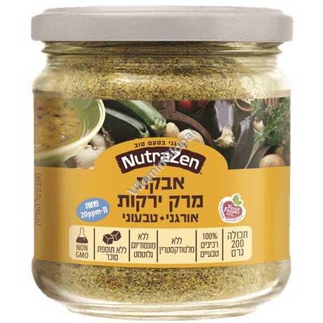 Organic Gluten-Free Vegetable Soup Powder 200g - NutraZen