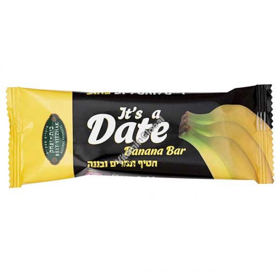 Nutrition Date & Banana Bar 40g - Beit Yizhak