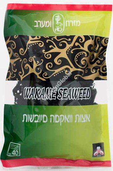 Kosher Dried Wakame Seaweed 40g - East & West