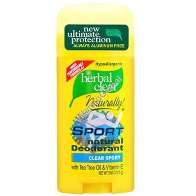 Natural Deodorant Sport 75g - 21st Century