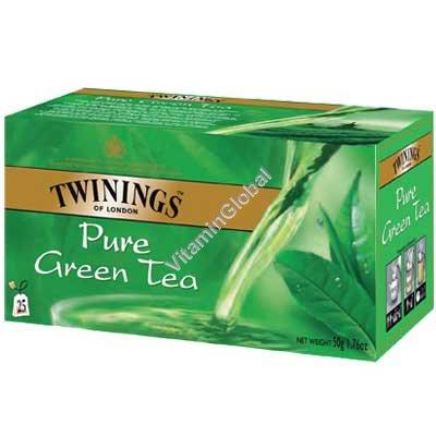 Pure Green Tea 25 tea bags - Twinings