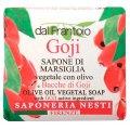 Olive Oil with Goji Vegetal Soap Bar 100g - Nesti Dante