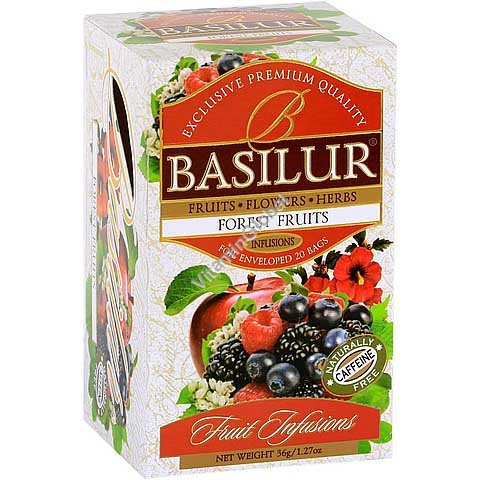 Forest Fruit Infusion 20 tea bags - Basilur
