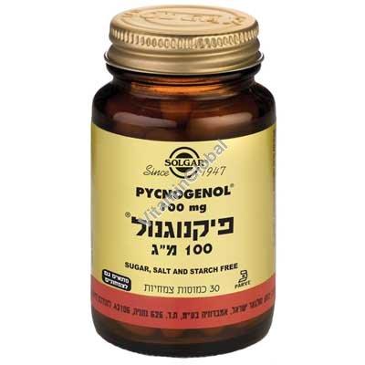 Pycnogenol 100mg 30 caps - Solgar