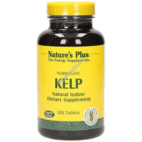 Norwegian Kelp 150 mcg 300 tablets - Nature\'s Plus