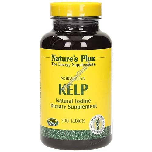 Norwegian Kelp 150 mcg 300 tablets - Nature\'s Plus