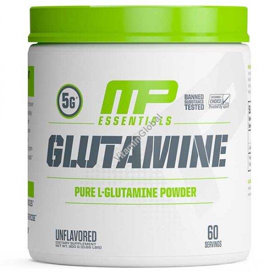 Glutamine Powder, Unflavored, 0.66 LBS (300g) - MusclePharm