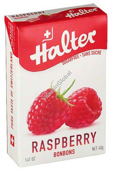 Sugar Free Raspberry Bonbons 40g - Halter