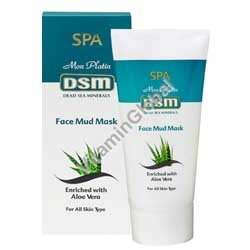 Face Mud Mask 150 ml (5.1 fl. oz) - Dead Sea Minerals