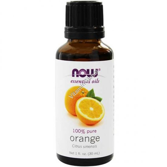 Orange Oil 30ml (1 fl oz) - Now Essential Oils