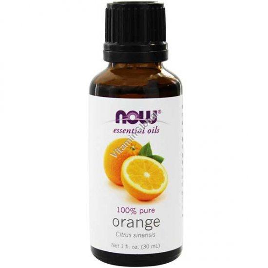 Orange Oil 30ml (1 fl oz) - Now Foods