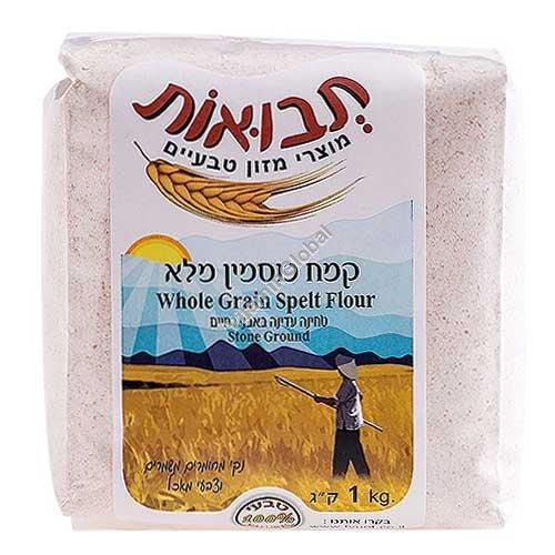 Whole Spelt Flour 1kg - Tvuot