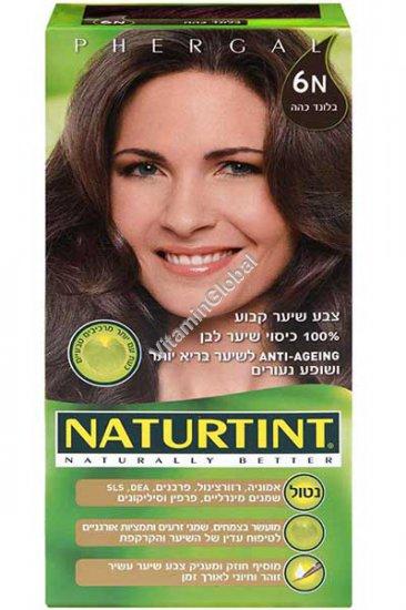 Permanent Hair Color 6N Dark Blonde - Naturtint