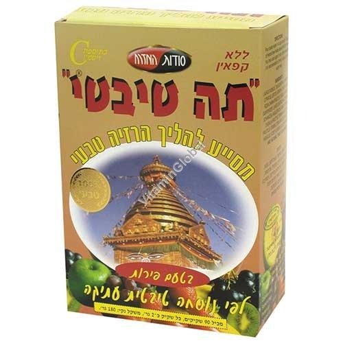 Tibetian Tea Fruit Flavour 90 tea bags - Oriental Secrets
