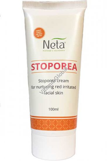 Stoporea Cream for nurturing red irritated facial skin 100 ml - Neta