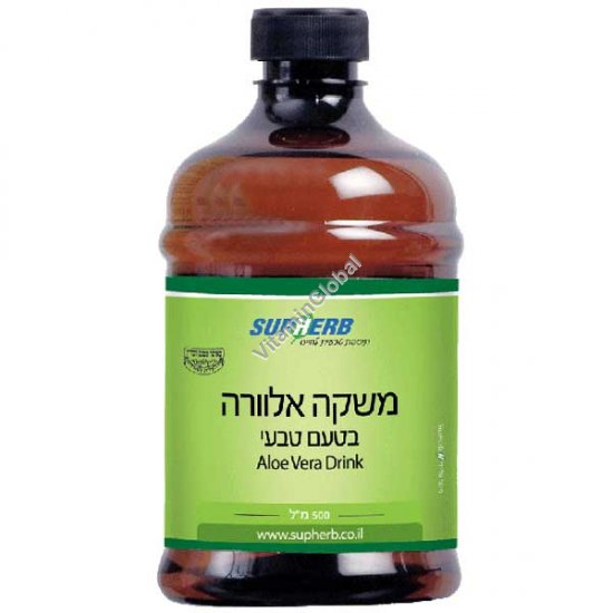 Kosher L\'Mehadrin Aloe Vera Drink 500 ml - SupHerb