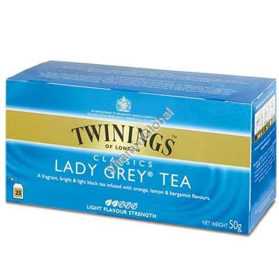 Lady Grey Tea 25 tea bags - Twinings