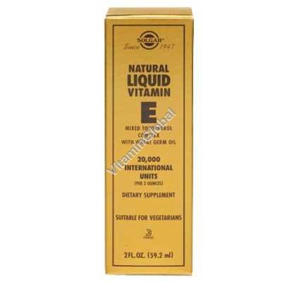 Liquid Vitamin E 59.20 ml - Solgar