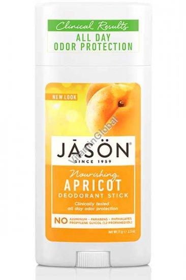Nourishing Apricot Deodorant Stick 71g (2.5 oz) - Jason