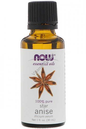 Star Anise Pure Essential Oil 30 ml - Now Essential Oils