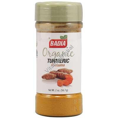 Organic Gluten Free Turmeric Powder 2 oz (56.7g) - Badia