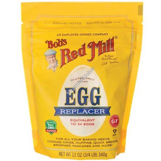 Gluten Free Vegan Egg Replacer 340g (12 OZ) - Bob\'s Red Mill