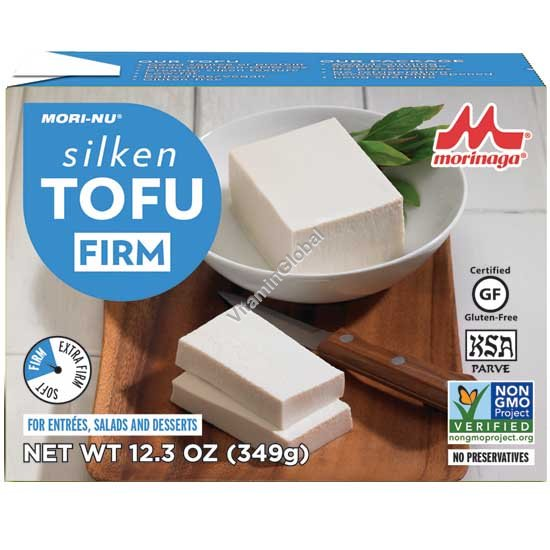 Silken Tofu Firm 349g - Mori-Nu