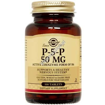 Pyridoxal-5-Phosphate P-5-P 50 mg 100 tabs - Solgar