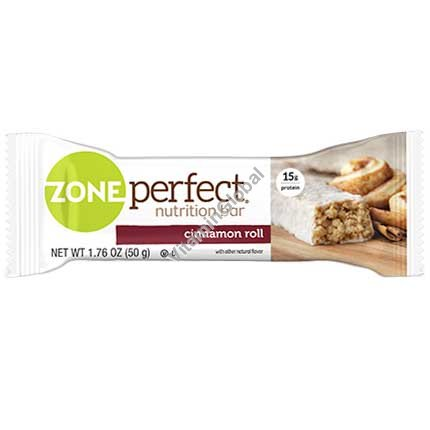 Nutrition Bar Cinnamon Roll 1.76 oz (50g) - Zone Perfect