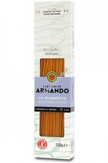 Gluten Free Red Lentil Spaghetti 250g - Armando