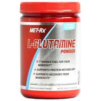 L-Glutamine Powder 400g - Met-Rx